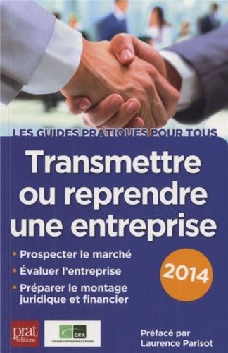 Transmettre ou reprendre une entreprise 2014