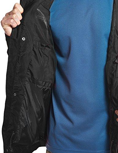 MAIER SPORTS Funktionsjacke Bret aus 100% PES in 10 Größen, Wander-Jacke/ Outdoor-Jacke/ Herren Jacke, wasserdicht und atmungsaktiv black