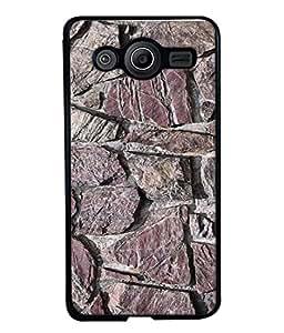 FUSON Designer Back Case Cover for Samsung Galaxy Core 2 G355H :: Samsung Galaxy Core Ii :: Samsung Galaxy Core 2 Dual (Sandstone Bricks Of Irregular Shapes Slotting Together )