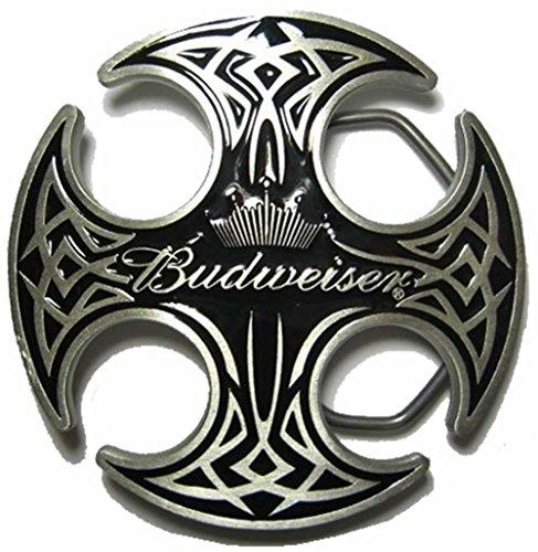 budweiser-round-celtic-fibbia-per-cintura-espositore