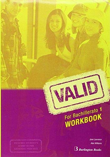 Valid for Bachillerato 1. Workbook
