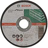 Bosch 2 608 603 177  - Disco de corte recto Standard for Stone - C 30 S BF, 115 mm, 22,23 mm, 3,0 mm (pack de 1)