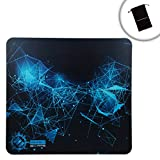 ENHANCE GX-MP5 XL Hard Gaming Mouse Pad with ABS Plastic Surface & Non-Slip Rubber Backing for High DPI Gaming - Works with Dell Optiplex , Lenovo ThinkServer , CybertronPC Borg-Q and more Computers