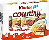 Kinder - Country Riegel Schokolade 9St - 211,5g