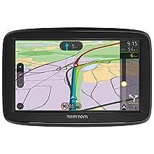 TomTom Car Sat Nav VIA 52, 5 Inch with Handsfree Calling, Traffic via Smartphone and EU Maps, Resistive Screen