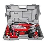 Presa idraulica, kit di sollevamento portatile 4T per sollevamento sollevatore per auto Strumento di riparazione per presa da pavimento per sollevatore per autoveicoli per autocarri