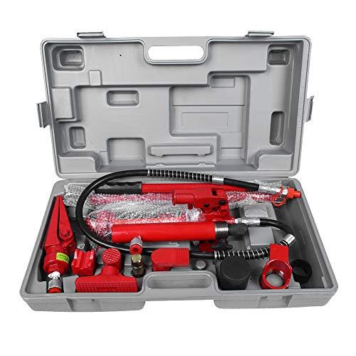 Aluminium Material Ton Hydraulic Power Auto Van Jack Körper Power Repair Kit Tools1 Set 4 (Rot)