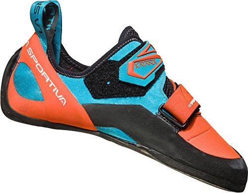 La Sportiva Katana Climbing Shoes Men Tangerine/Tropic Blue Schuhgröße 41 2019 Kletterschuhe