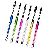 Il nuovo pennello ciglia Fabal pettine per ciglia Lash Mascara separatore Lift Curl metal Brush beauty makeup Tool