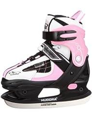 Hudora HD 2010 - Juego de patines de hielo para mujer rosa rosa Talla:32 - 35
