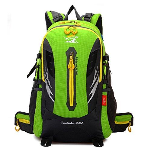 Mode Outdoor-Sport professionelle Fernreisen Bergsteigen Taschen Green