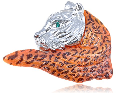 swarovski-crystal-elements-orange-wild-bobcat-school-mascot-fashion-pin-brooch