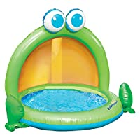 Cette pataugeoire est id�ale pour rafraichir B�b�. Con�ue avec un design et des couleurs amusantes, l'enfant s'�clatera avec l'eau lors des fortes chaleurs. Vendu a l'unit�.
