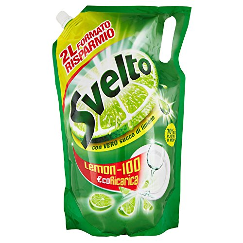 Svelto - Eco Ricarica, Con Vero Succo di Limone - 2 l