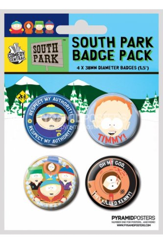 south-park-button-badge-4-pack-pyramid-international