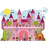 Aladine 45143 - Puzzle vertical, diseño de castillo