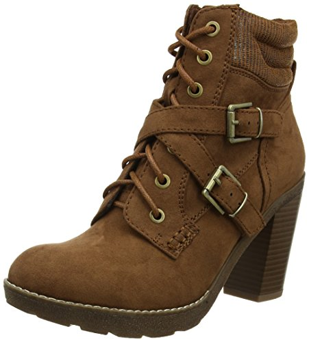 Dorothy Perkins Aruba Fur Lined Hiker, Stivaletti Donna Brown (Tan)