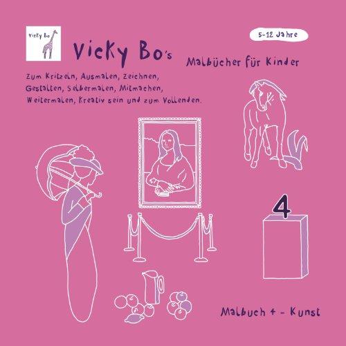 Malbuch Kunst. 5-12 Jahre (Kunst Für Erwachsene)