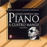 Música Española para Piano a Cuatro Manos. Vol. 1