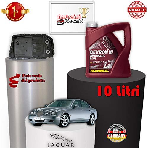 TAGLIANDO CAMBIO AUTOMATICO E OLIO S-TYPE 3.0 V6 175KW 2004 -> 2007 1065