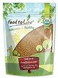 Food to Live Brotes de semillas de alfalfa Bio (Eco, Ecológico, Kosher) (3 libras)