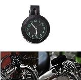 ICTRONIX 7/8'' 1''Universal Motorraduhr Uhr Uhren Ziffernblatt für Motorrad...