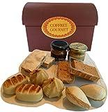 Box Gourmet Vorkosten Spanien - Spanische Köstlichkeiten 10er Set - Teile Alicante Turron Jijona - Marzipan - Verteilt - Milch