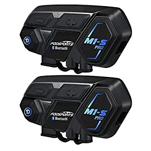 Moto Intercomunicador Bluetooth, Fodsports M1S