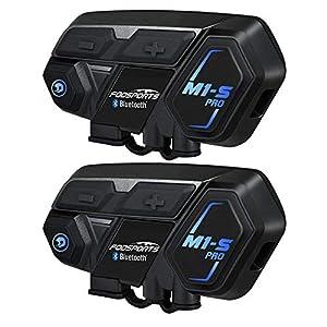 Moto Intercomunicador Bluetooth, Fodsports M1S