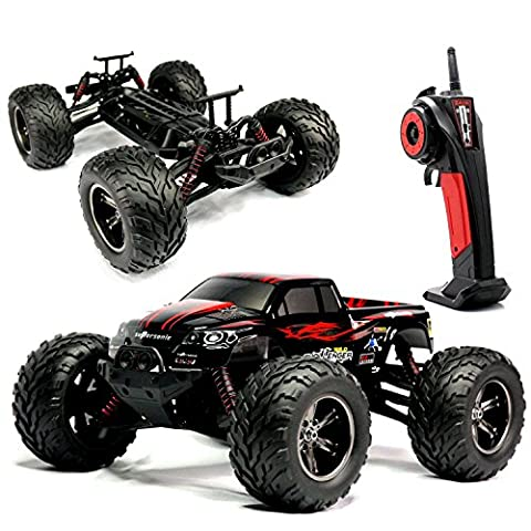 VANGOLD 2.4Ghz Off-road RC Cars Electric 1:12 Scale RTR 50MPH Remote Control Rock Crawler Monster Truck