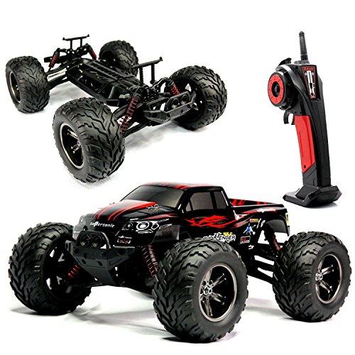 VANGOLD-24Ghz-Off-road-RC-Cars-Electric-112-Scale-RTR-50MPH-Remote-Control-Rock-Crawler-Monster-Truck-Red