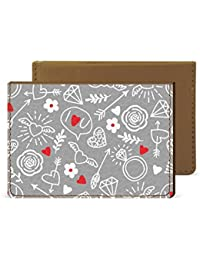 Love Doodle Credit Card Wallet By Robobull