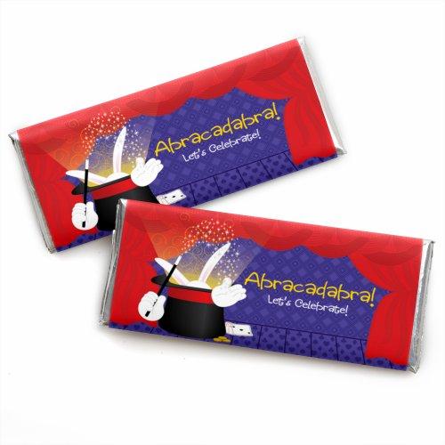 Magic - Candy Bar Wrapper für Geburtstagspartys, 24 Stück (Papier Dem Auf Dot Candy)