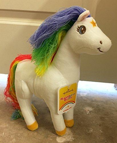hallmark-rainbow-brite-starlite-horse-stuffed-plush-kid3424-by-hallmark