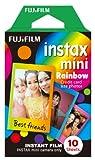 Fujifilm 16276405 Instax 1x10 Film Mini, Rainbow, WW1 für Mini 8/90 Neo Classic, Mini-70, Hello Kitty, SP-2