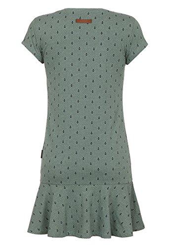 Naketano Female Dress Auf Detlef caktir II Green Melange