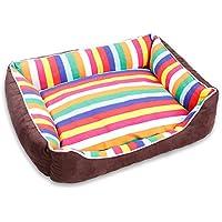 JM- Cama para Perros Mascotas, cómodo colchón de Espuma ortopédica, Cama Qulited,