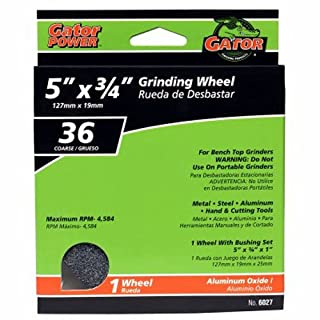 ALI INDUSTRIES 6027 Coarse Grind Wheel, 5-Inch x 3/4-Inch x 1-Inch by Ali Industries