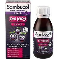 Sambucol Extrait de Baies de Sureau Noir + Vitamine C pour Enfants 120ml