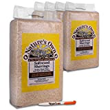 12.8KG Nature's Own Compressed Soft Wood Shavings Flakes Dust Extracted Animal Bedding & Tigerbox Antibacterial Pen. Ideal for rabbits, guinea pigs, hamsters, gerbils, chinchillas, pet mice, rats
