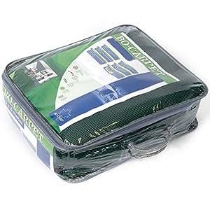 Bocamp tapis vert 2,5 x 3 m, respirant, résistant et anti moisissures/campingteppich pour auvent tente de camping vorzeltboden 2,5 x 3 m