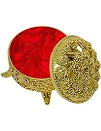 Ekan Decorative Box Sindoor Dibbi, Sindoor Box, All Purpose Box, Set Of 4, 20 Gram, Pack Of 1
