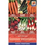 Vegetables Seed Collections - 6 in 1 pack -...