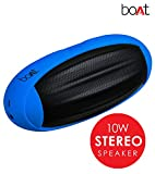 #9: Boat Rugby Portable Bluetooth Speaker (Blue)