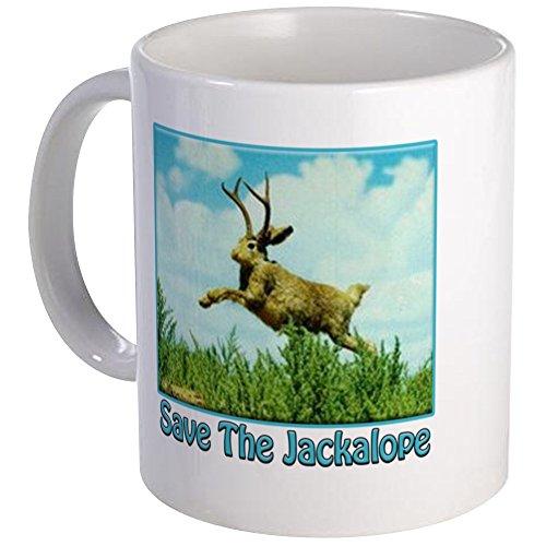 (CafePress–Save the Jackalope–Einzigartige Kaffee Tasse, Kaffeetasse, Mega weiß)