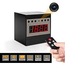 Eternal eye Ojo eterno realzado visión nocturna HD encubierta ocultos niñera reloj espía cámara gratis 16 GB SD + lector SD