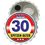 XXL Flaschenöffner XXL Flaschen Öffner 30 Spitzen Alter 32065 zum 30. Geburtstag