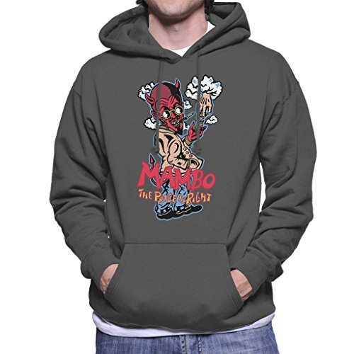 Mambo The Price Is Right Men's Hooded Sweatshirt Charcoal