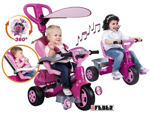 Imagen 1 de FEBER - Triciclo Baby Twist Niña (Famosa 800007099)