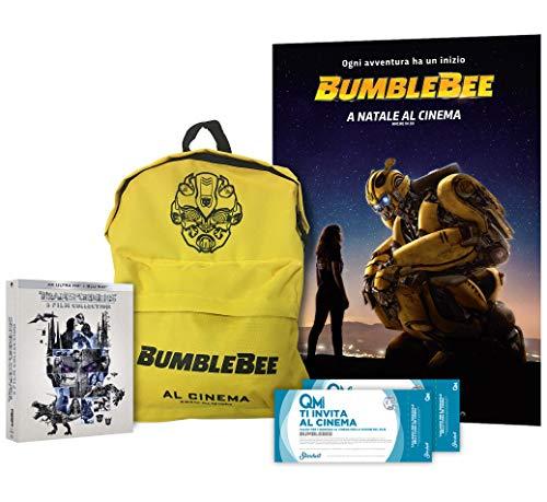Edizione Limitata: Boxset Transformers (4k) + Zaino Bumblebee + Poster + 2 Biglietti Cinema in Regalo per Bumblebee